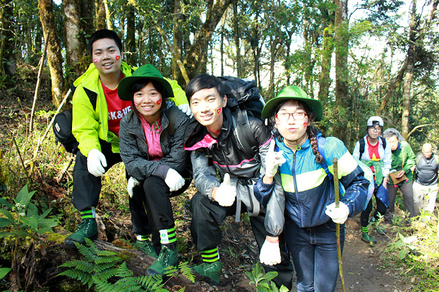 Kiều Quang Vinh chinh phục đỉnh Fansipan