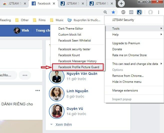 Tạo khiên bảo vệ Avatar Facebook